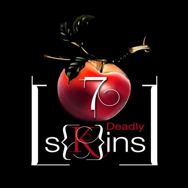 7 Deadly [S]kins SkinLogoZwart.png