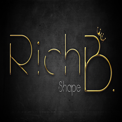 Logo RichB shape Sfondo.png